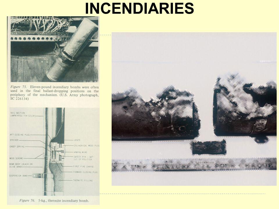 INCENDIARIES BB053 & BB 167