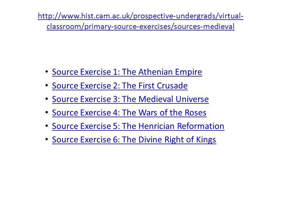 Source Exercise 1: The Athenian Empire