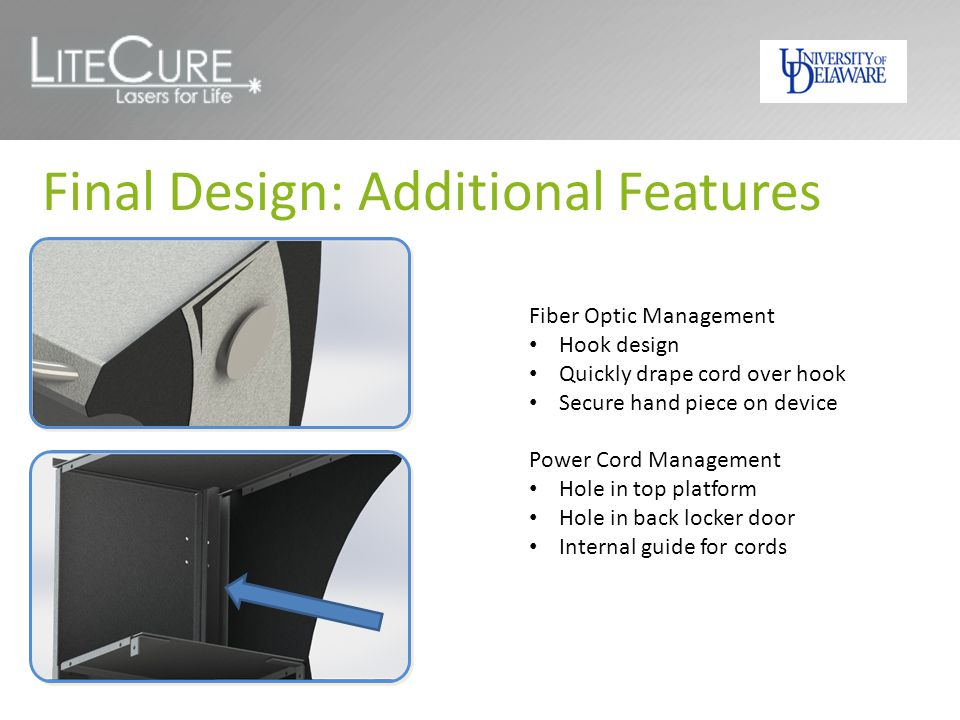 Final Design: Additional Features