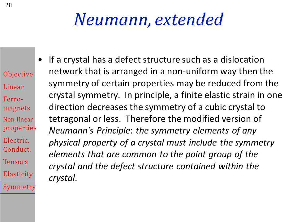 Neumann, extended