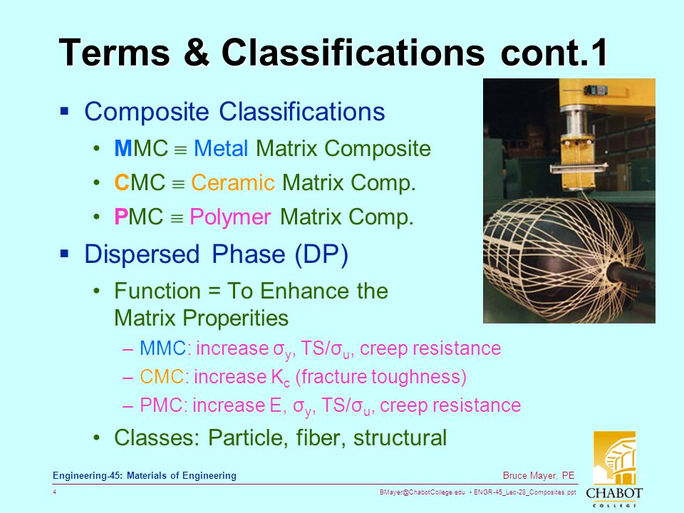 Terms & Classifications cont.1