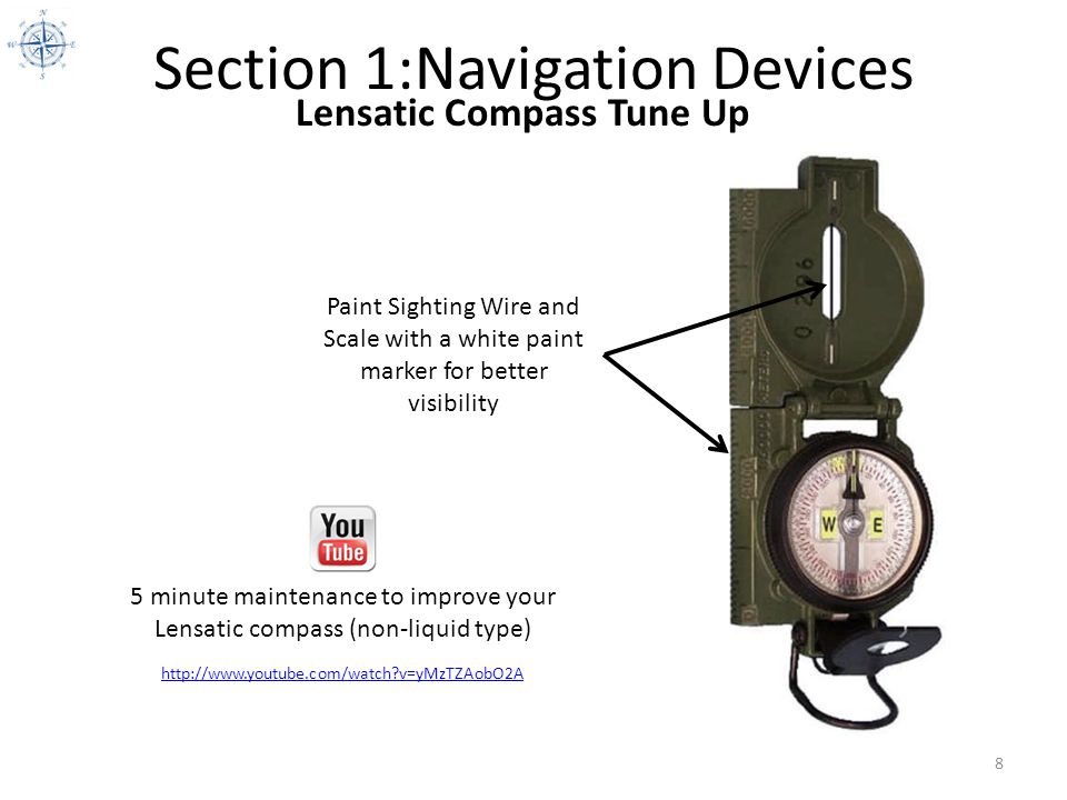 Section 1:Navigation Devices