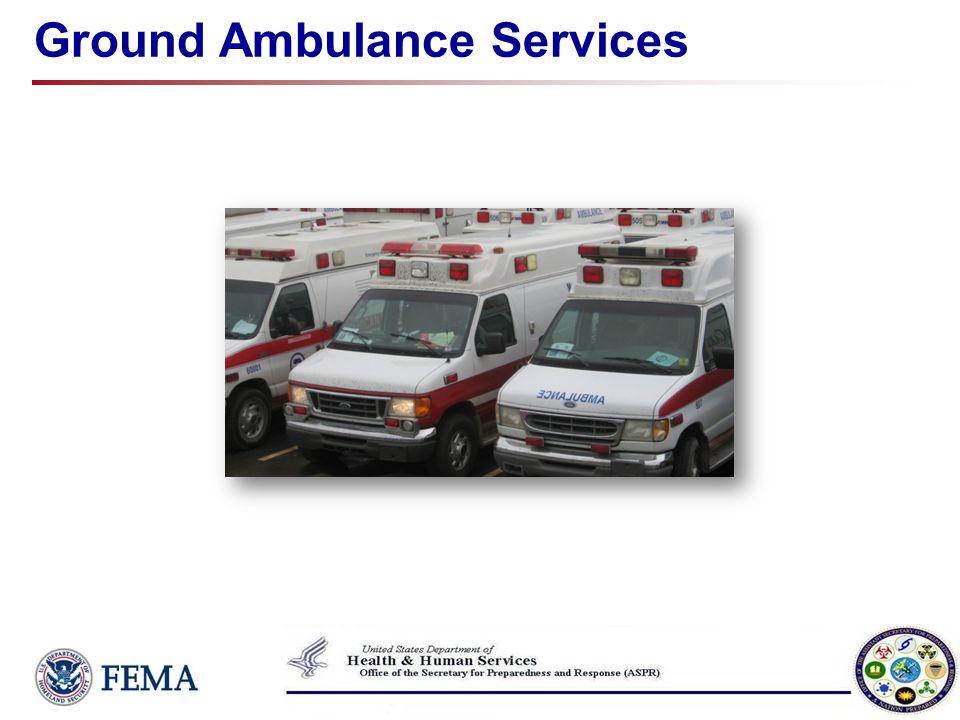 Ground Ambulance Services