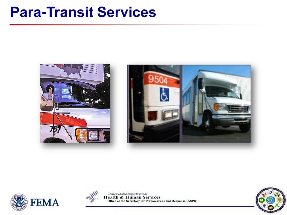 Para-Transit Services