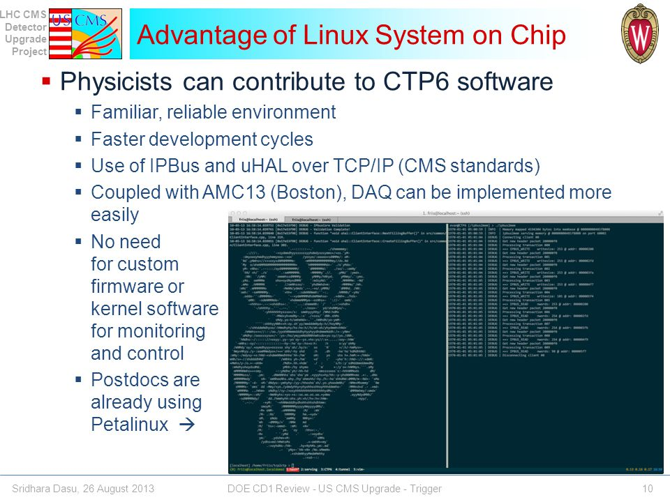 Advantage of Linux System on Chip