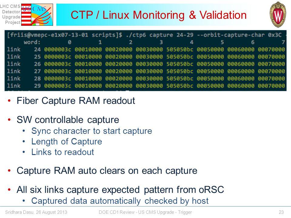 CTP / Linux Monitoring & Validation