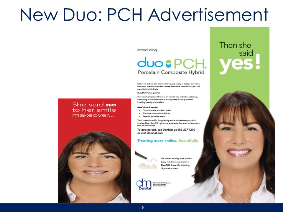 New Duo: PCH Advertisement