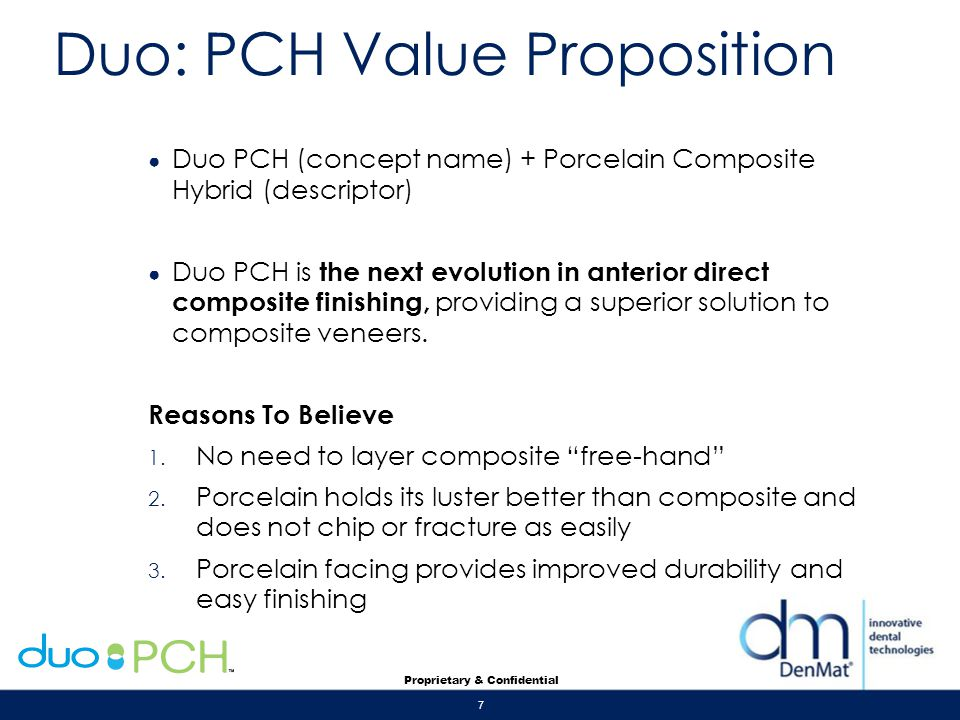 Duo: PCH Value Proposition
