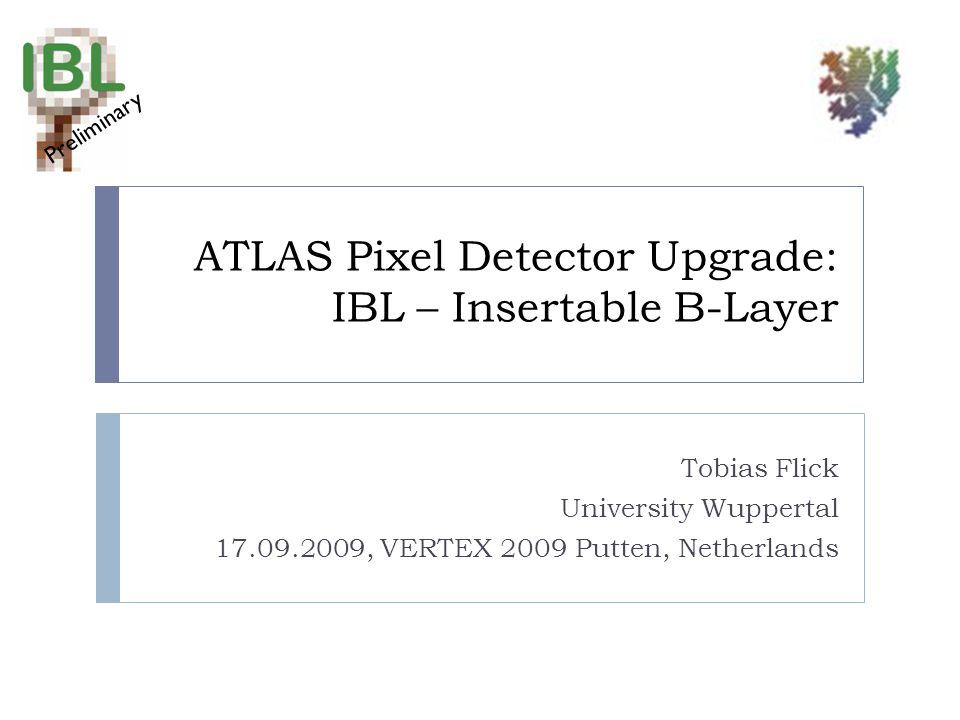 ATLAS Pixel Detector Upgrade: IBL – Insertable B-Layer
