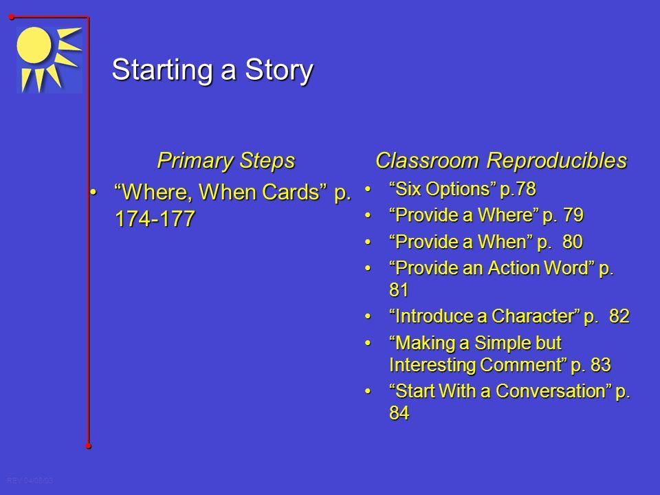 Classroom Reproducibles