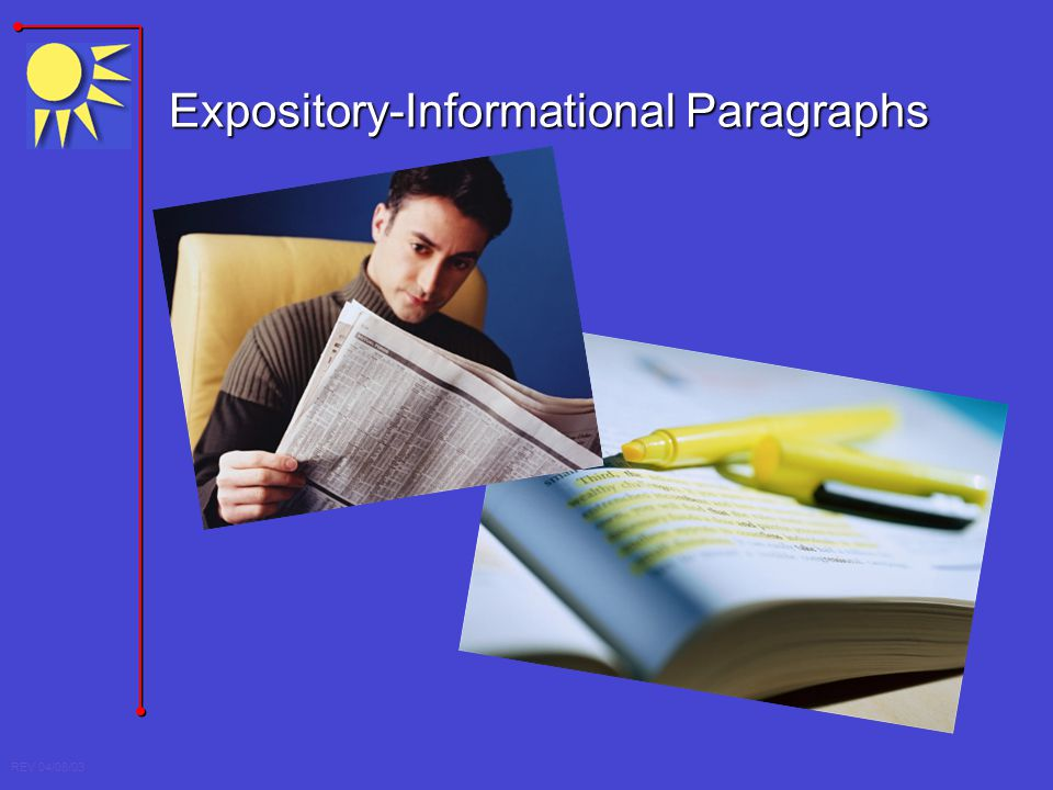 Expository-Informational Paragraphs
