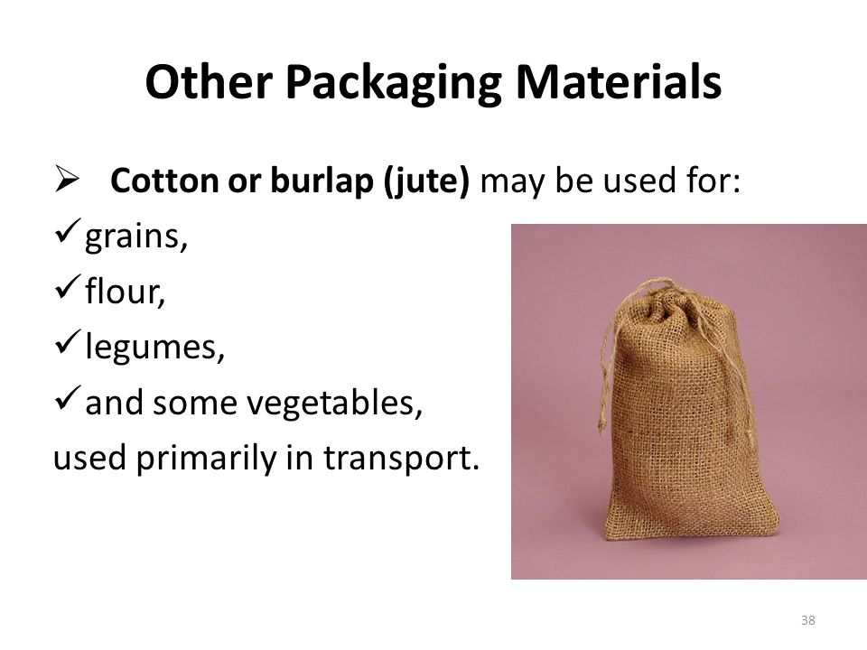 Other Packaging Materials