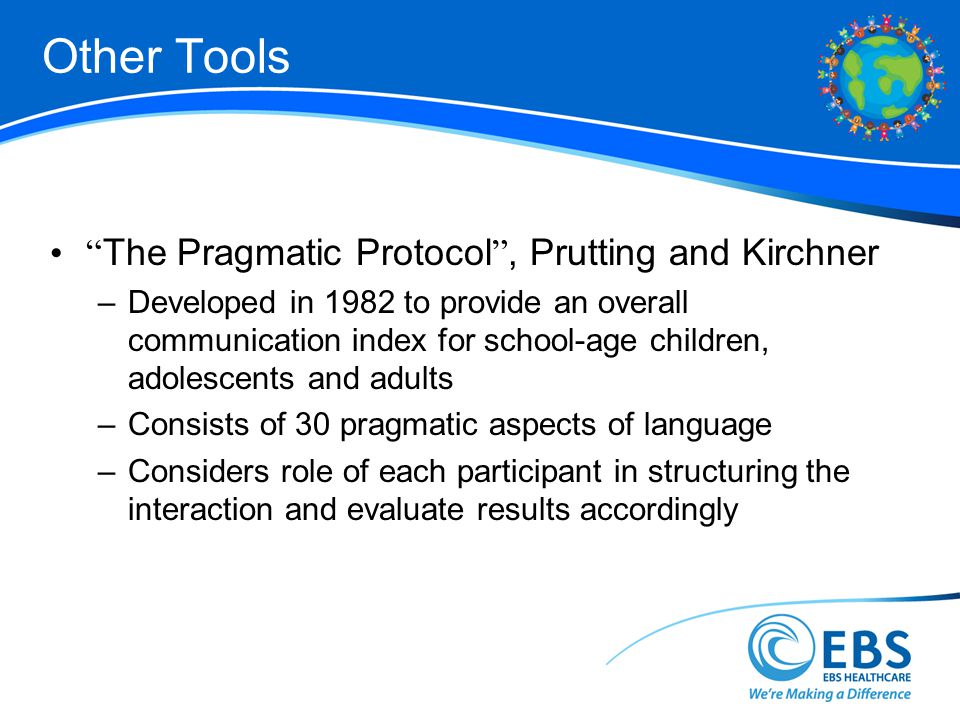 Other Tools The Pragmatic Protocol , Prutting and Kirchner