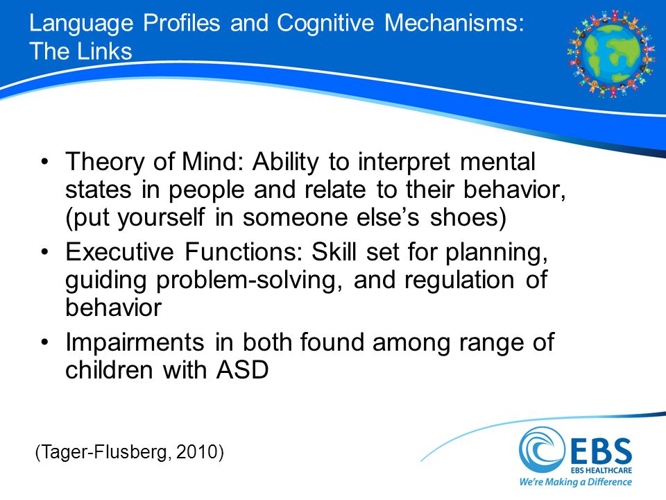 Language Profiles and Cognitive Mechanisms: The Links