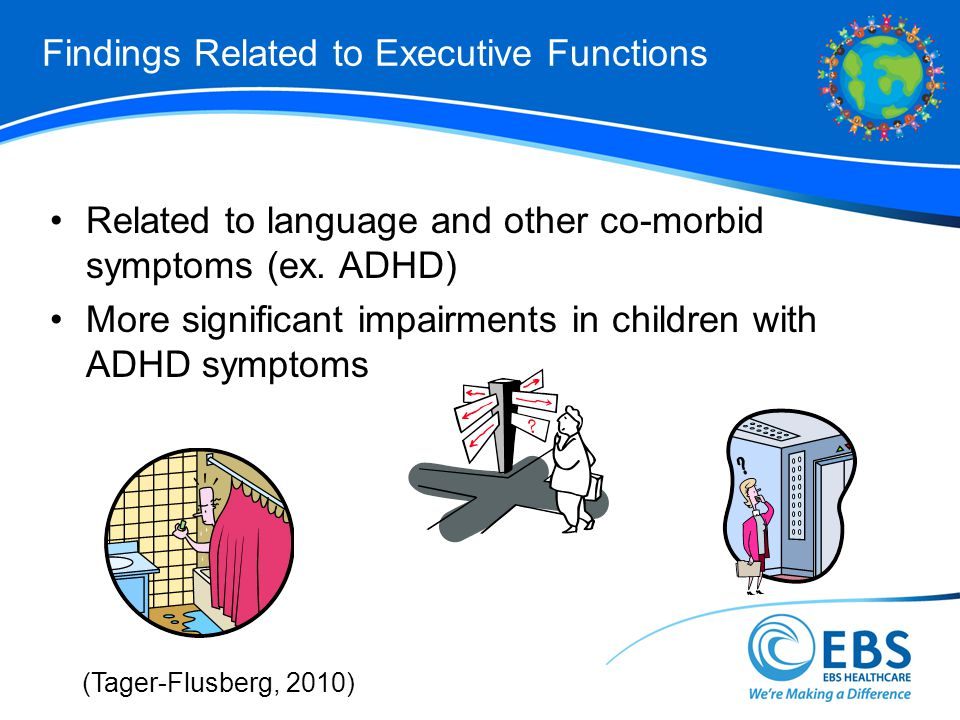 Findings Related to Executive Functions