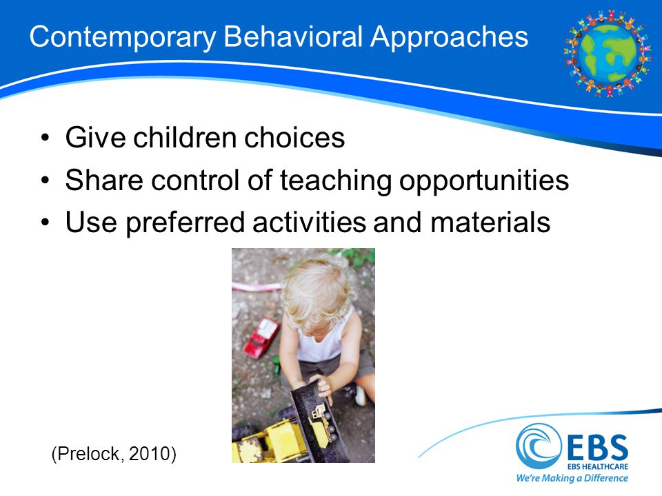 Contemporary Behavioral Approaches