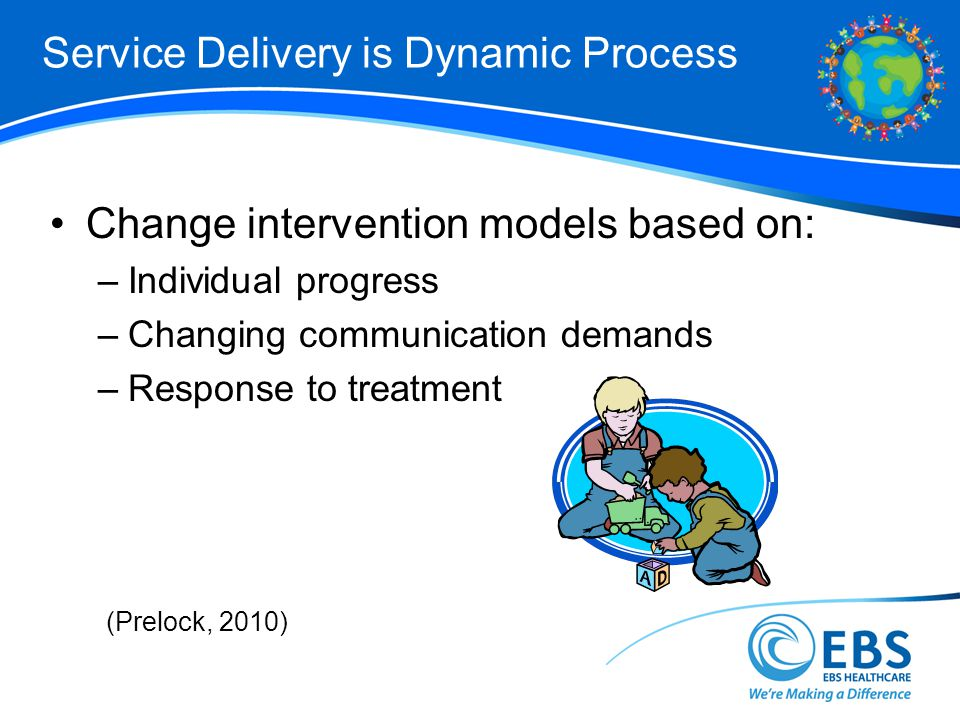 Service Delivery is Dynamic Process