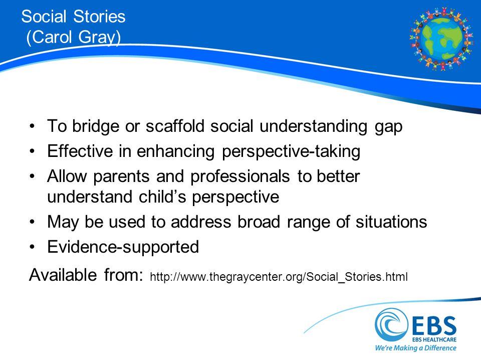 Social Stories (Carol Gray)