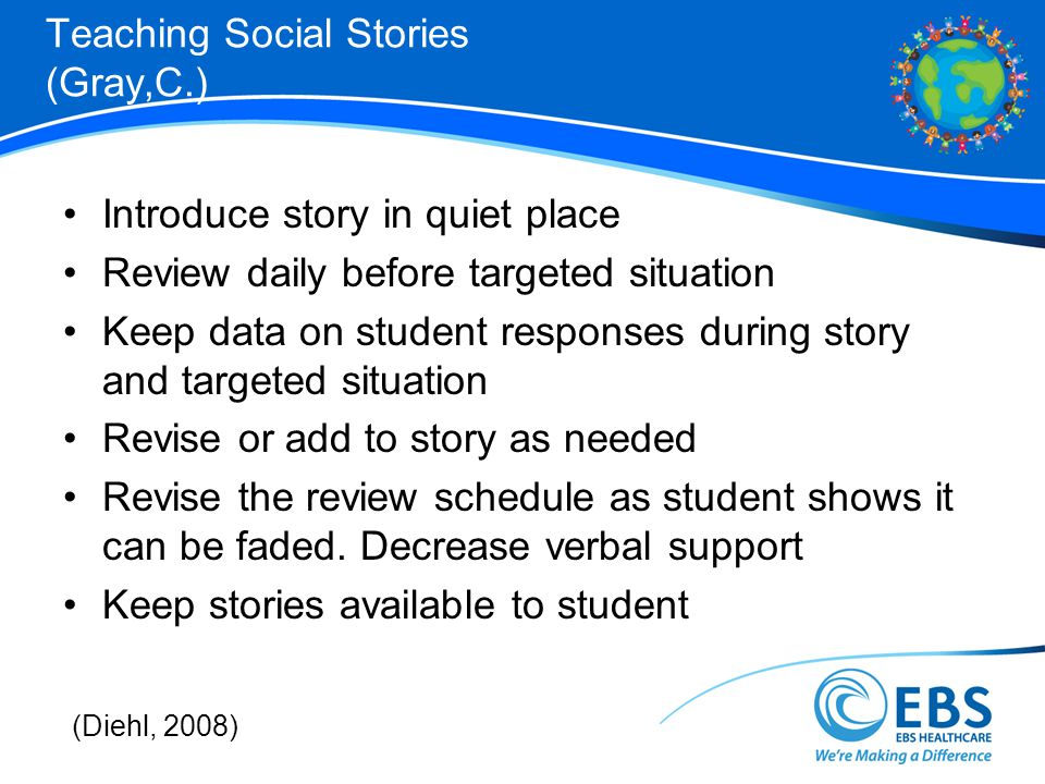 Teaching Social Stories (Gray,C.)