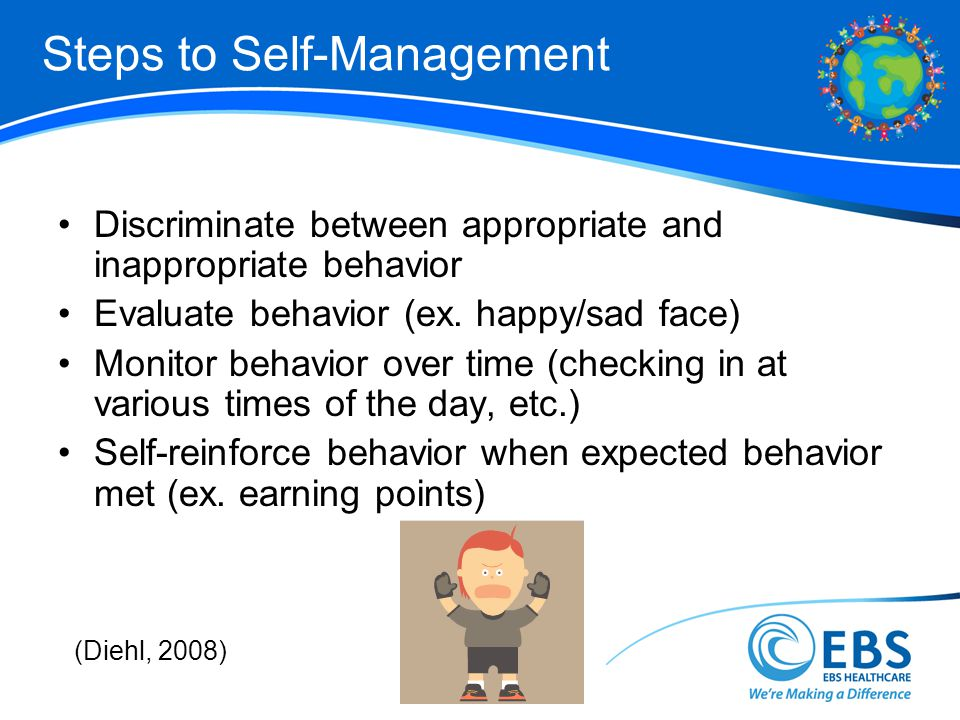 Steps to Self-Management