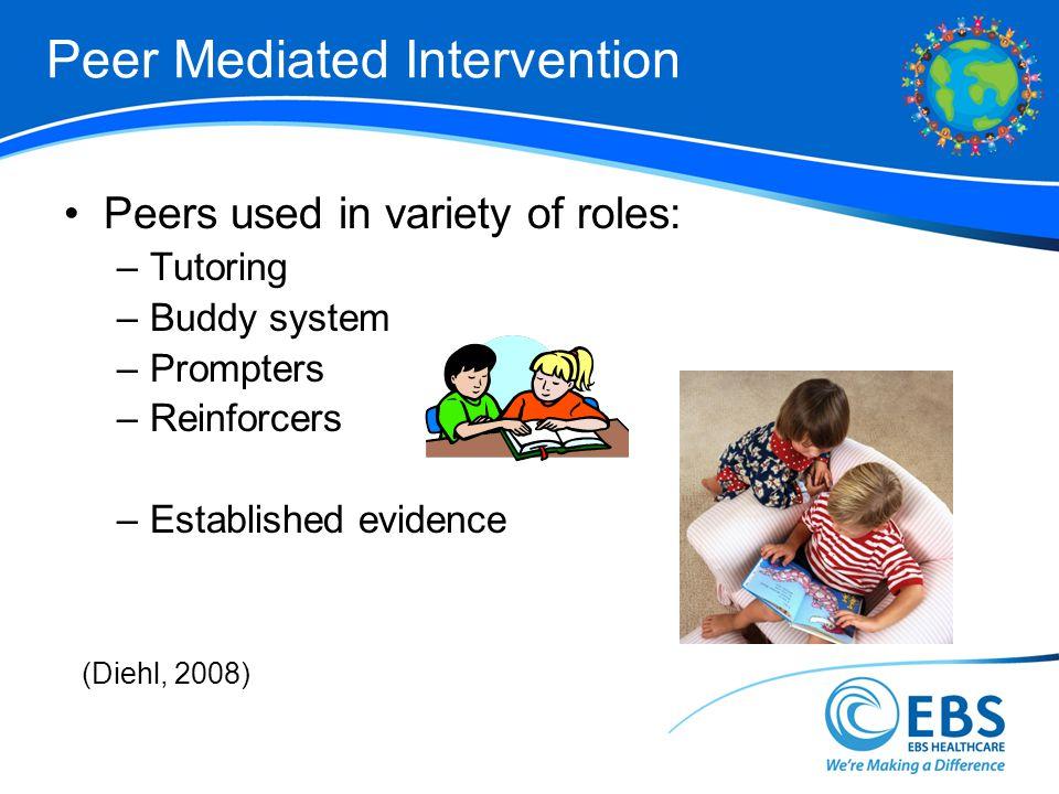 Peer Mediated Intervention
