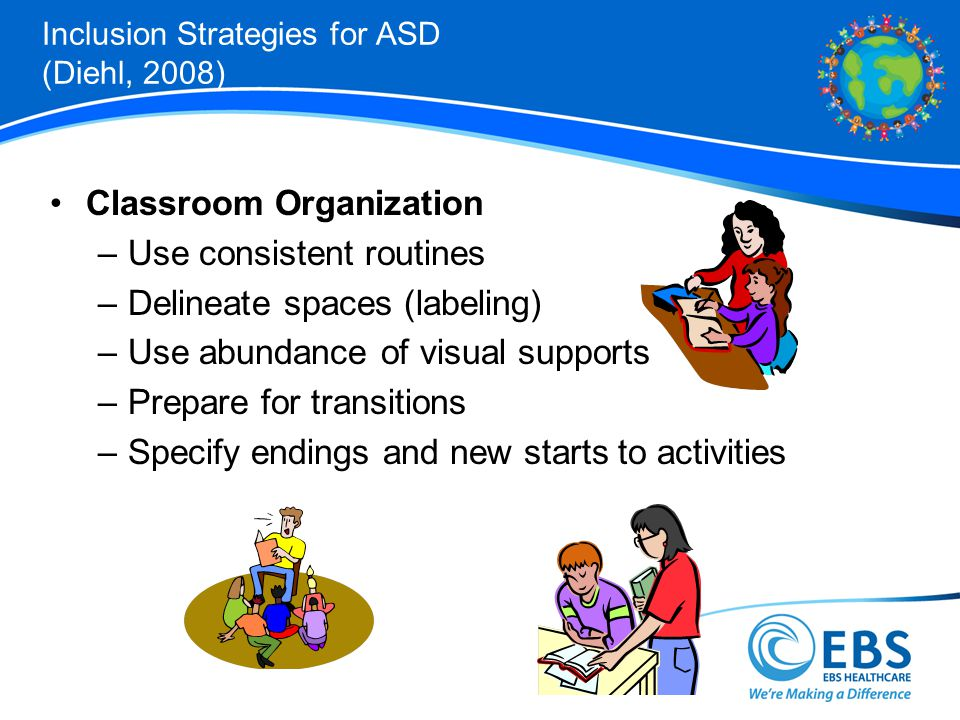 Inclusion Strategies for ASD (Diehl, 2008)