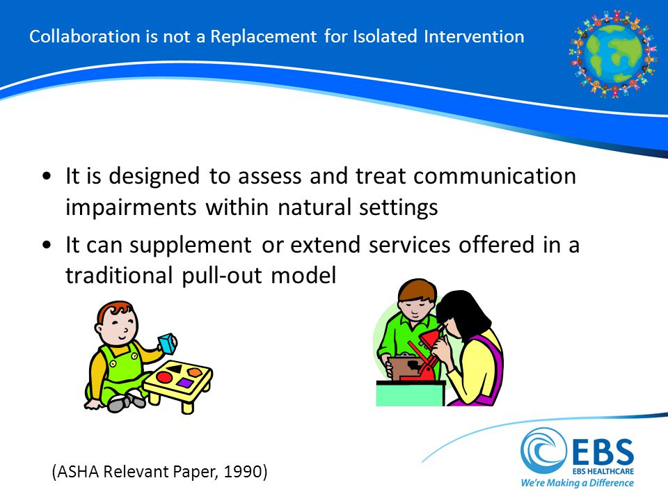 Collaboration is not a Replacement for Isolated Intervention