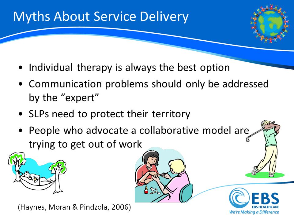 Myths About Service Delivery