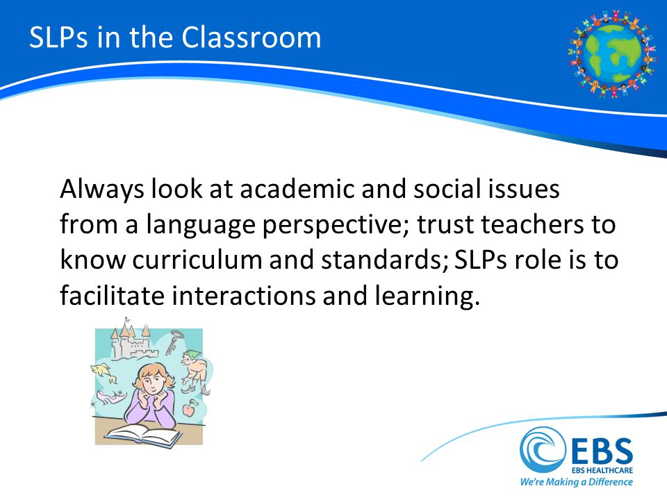 SLPs in the Classroom