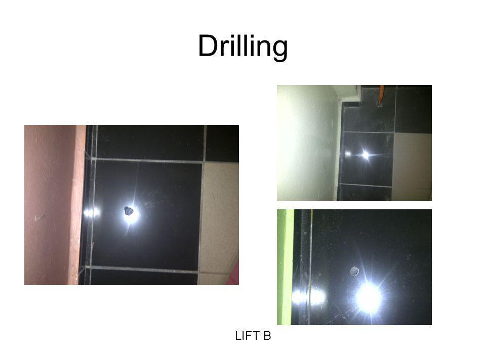 Drilling LIFT B