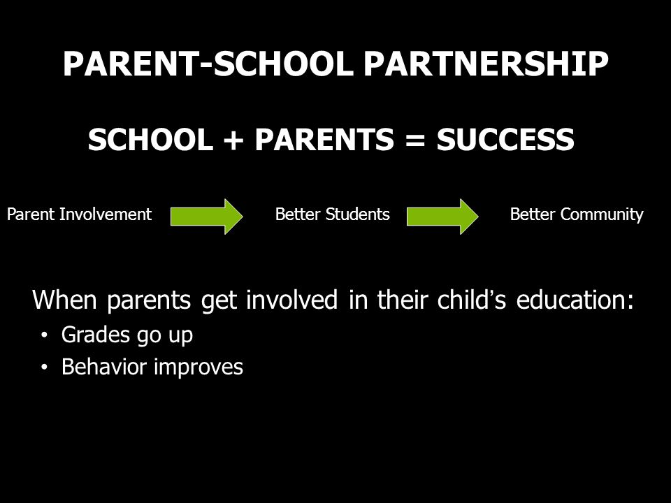 PARENT-SCHOOL PARTNERSHIP