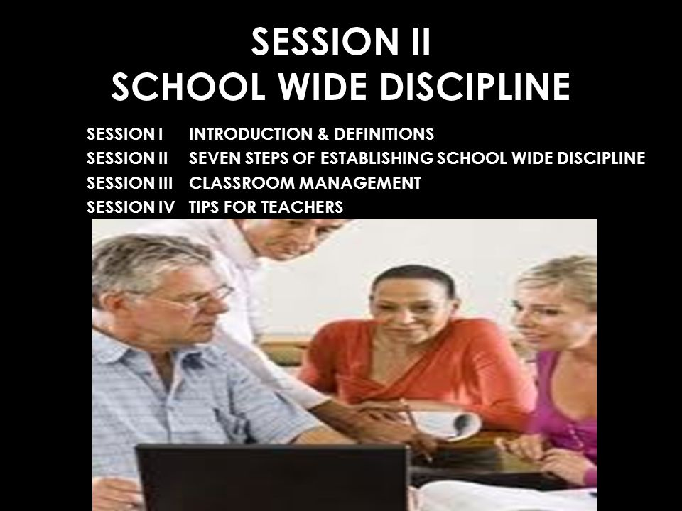 SESSION II SCHOOL WIDE DISCIPLINE