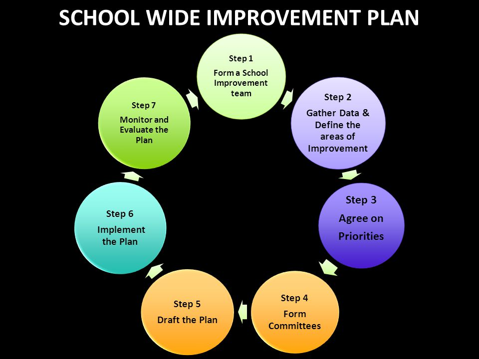 SCHOOL WIDE IMPROVEMENT PLAN