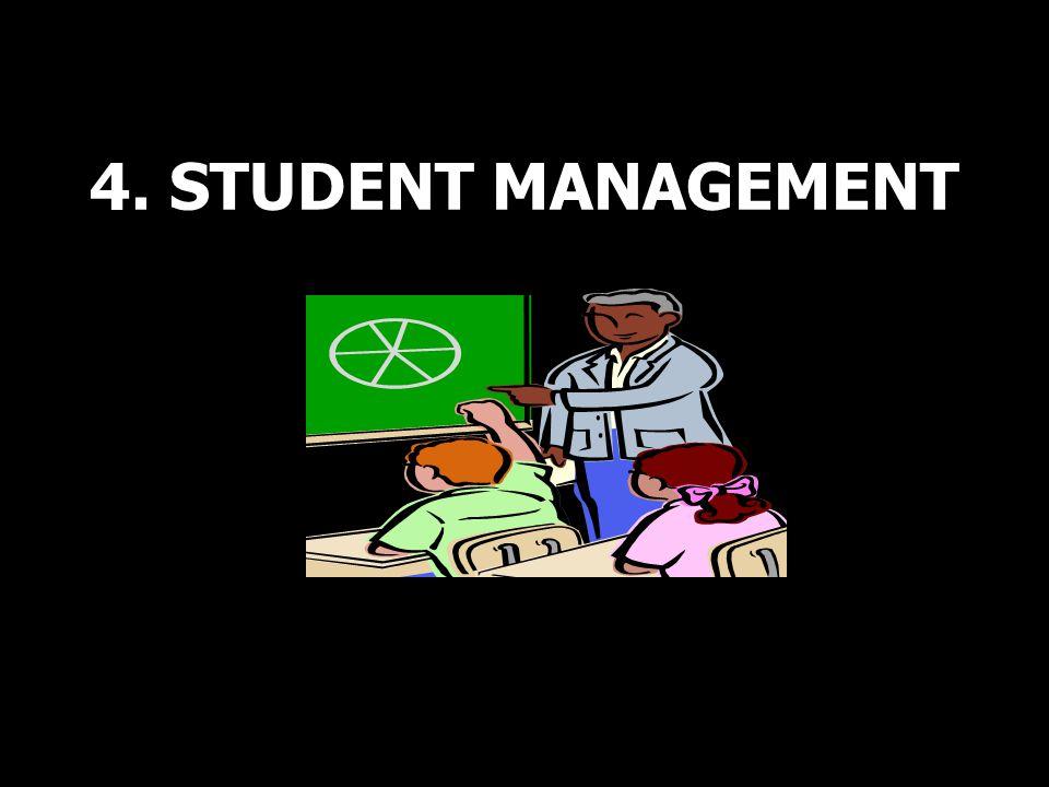 4. STUDENT MANAGEMENT