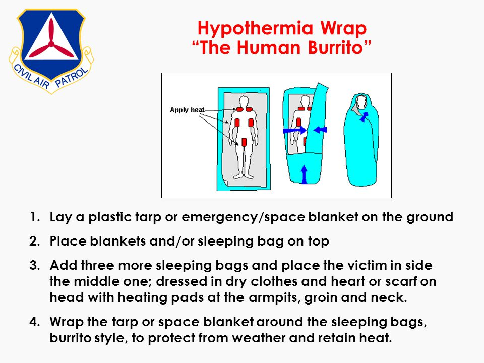 Hypothermia Wrap The Human Burrito