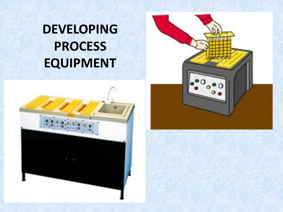 DEVELOPING PROCESS EQUIPMENT