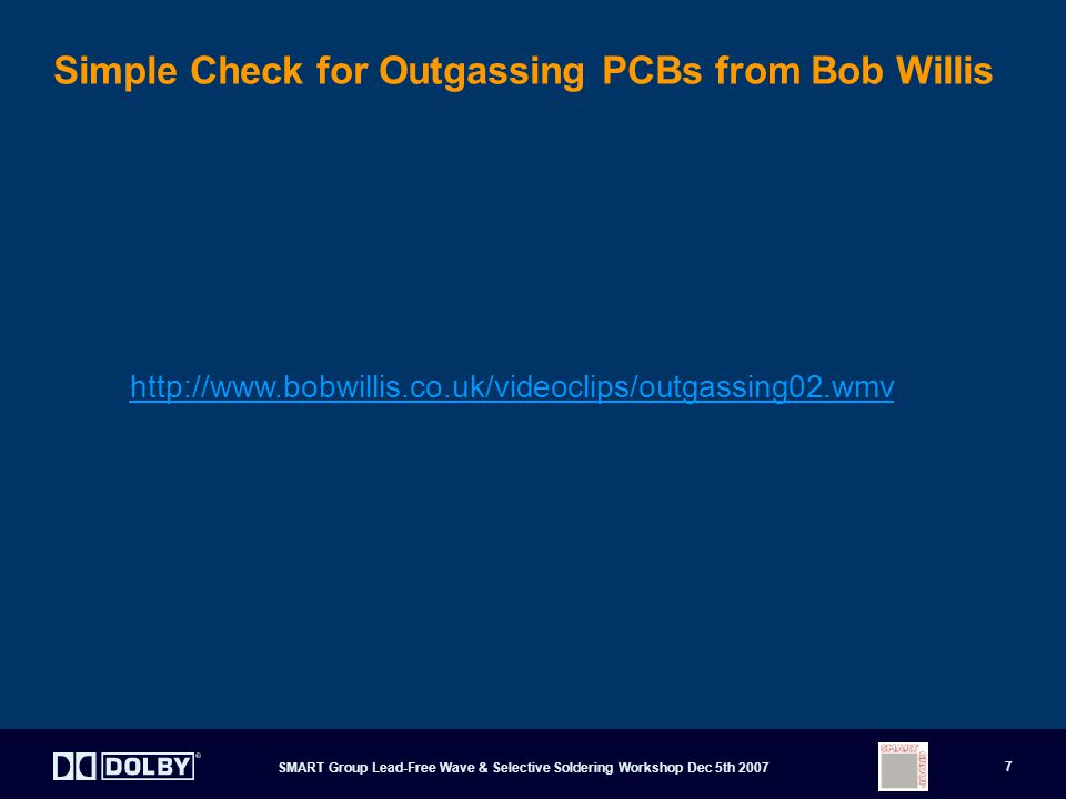 Simple Check for Outgassing PCBs from Bob Willis