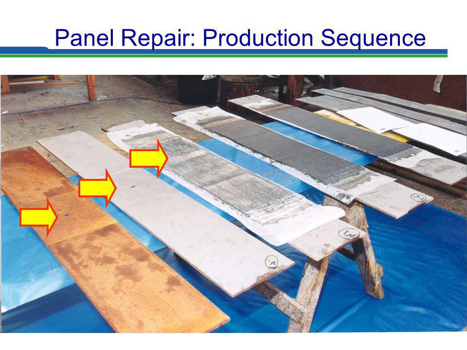 Panel Repair: Production Sequence