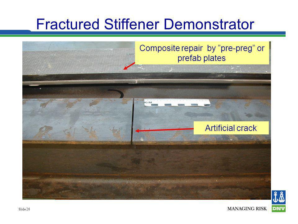 Fractured Stiffener Demonstrator