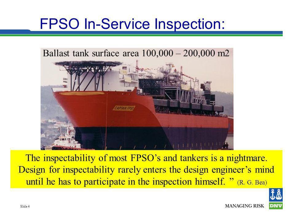 Ballast tank surface area 100,000 – 200,000 m2