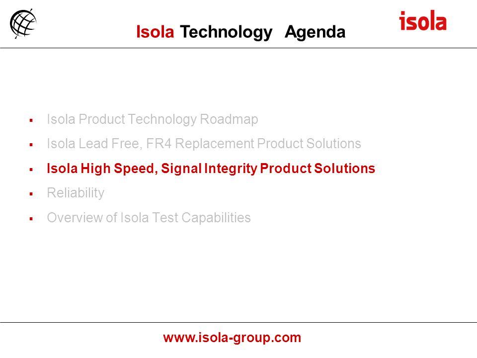 Isola Technology Agenda