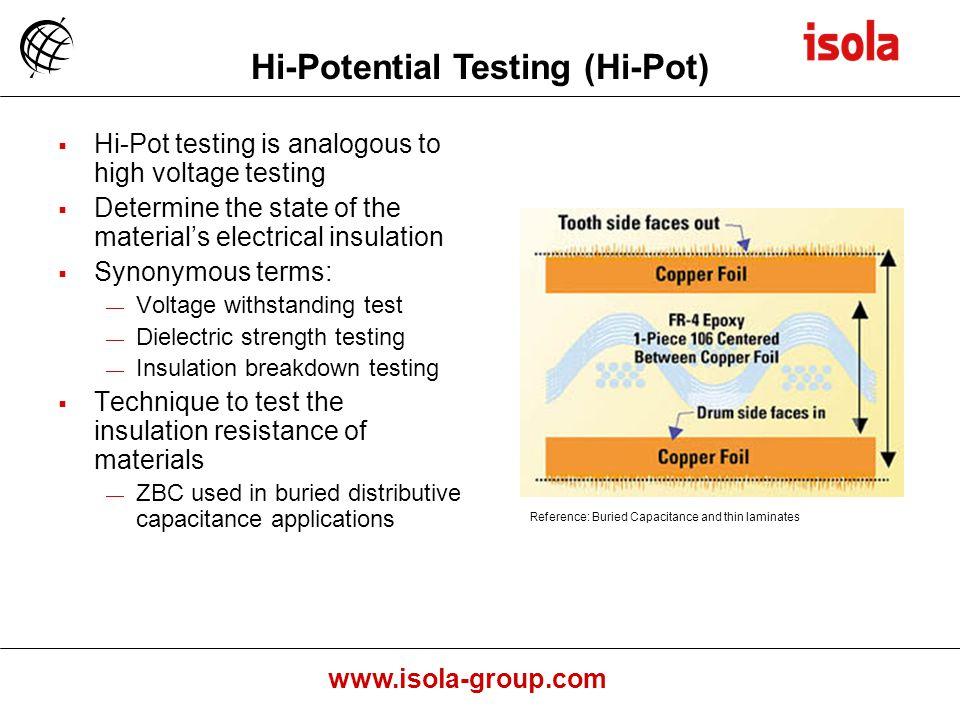 Hi-Potential Testing (Hi-Pot)