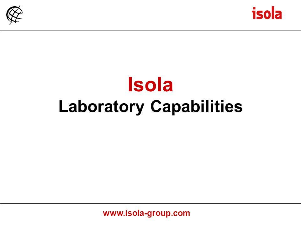 Laboratory Capabilities