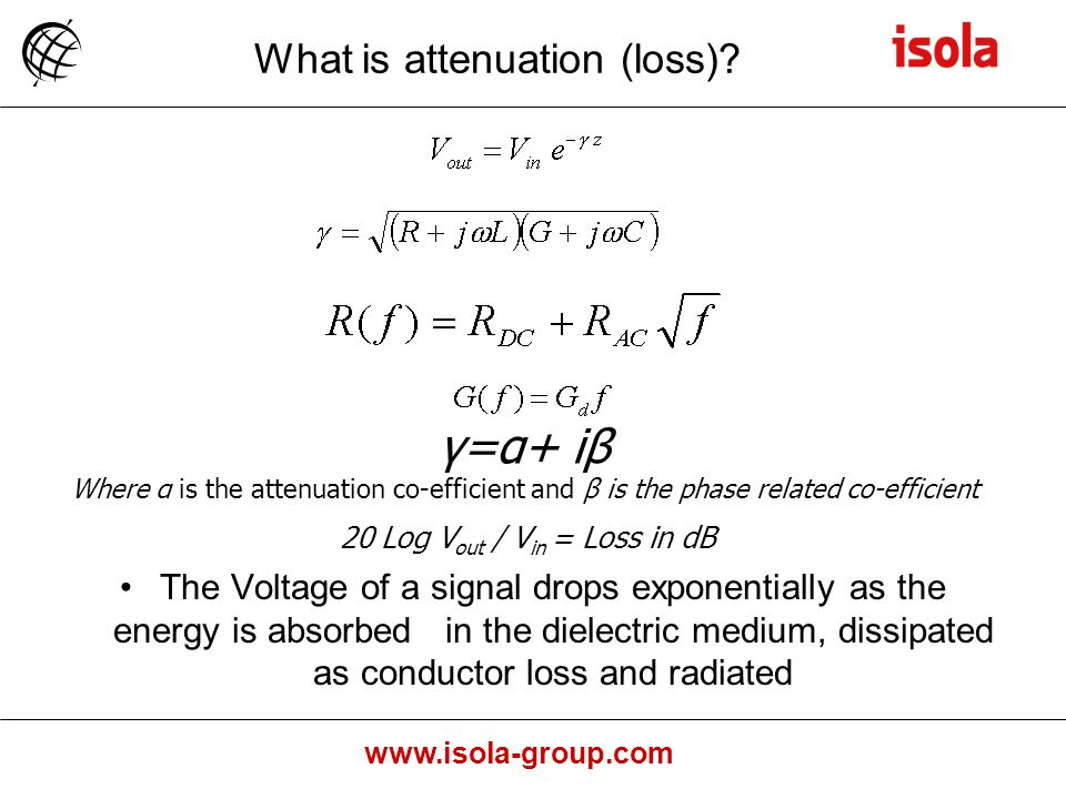 What is attenuation (loss)