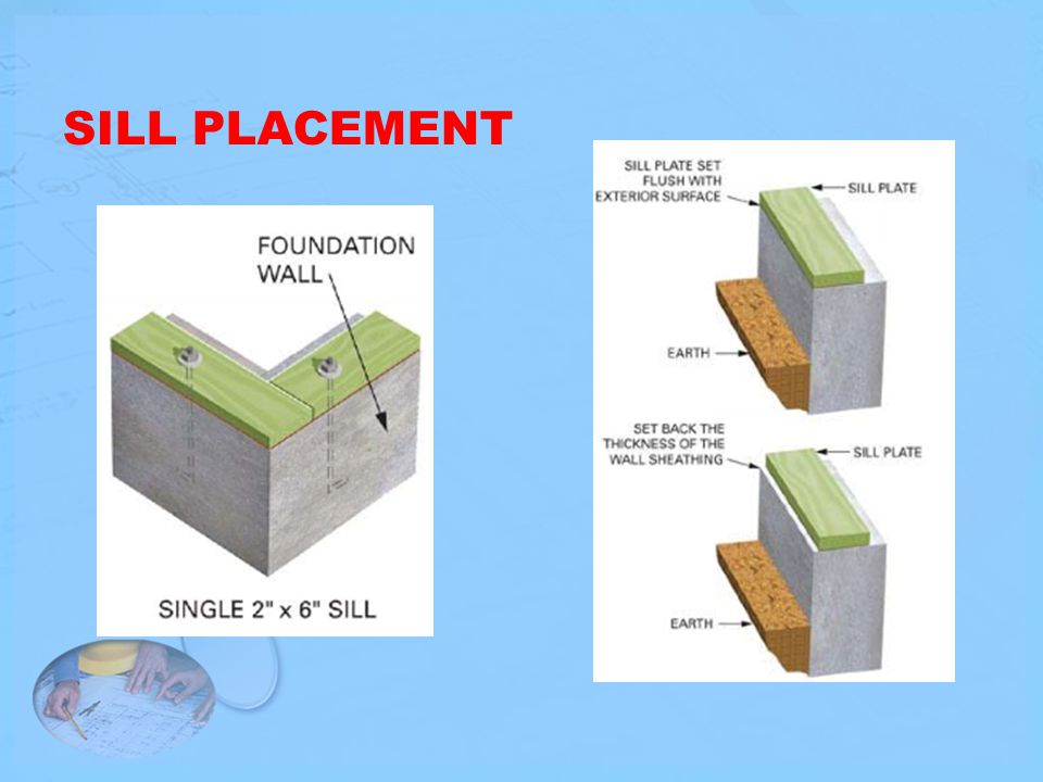 SILL PLACEMENT