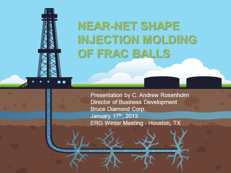 NEAR-NET SHAPE INJECTION MOLDING OF FRAC BALLS