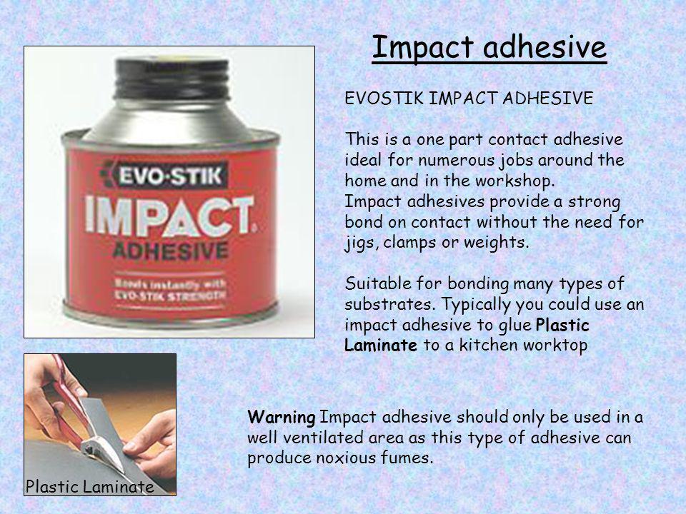 Impact adhesive