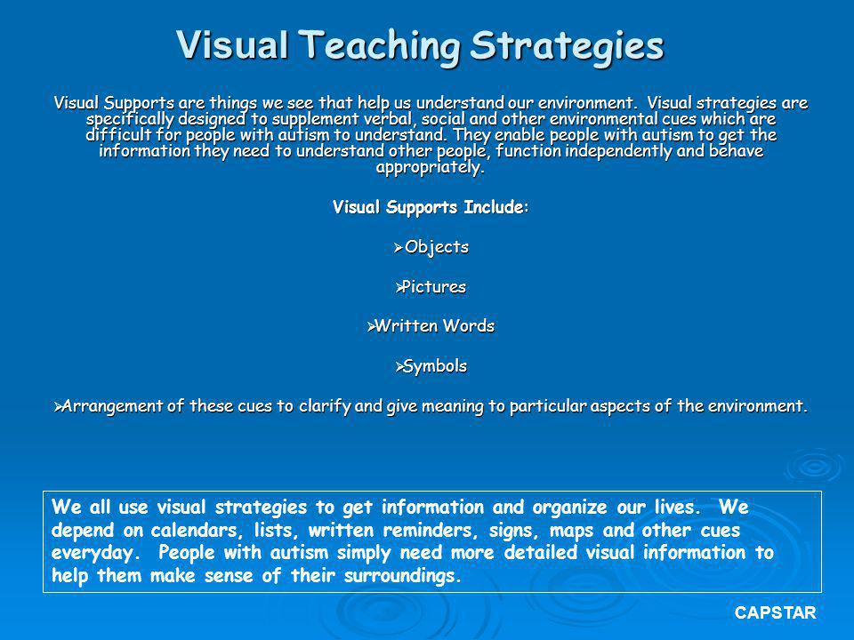 Visual Teaching Strategies