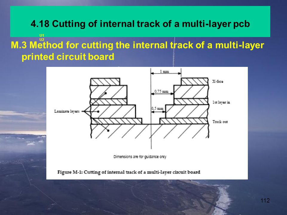4.18 Cutting of internal track of a multi-layer pcb