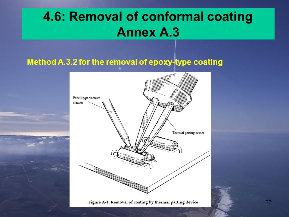 4.6: Removal of conformal coating Annex A.3